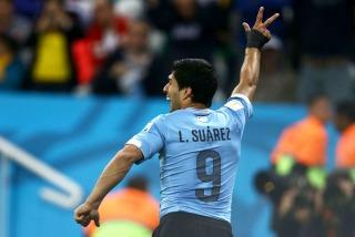 Grupo D: Dios salve a Suárez