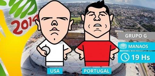Grupo G: Portugal, con Ronaldo, busca recuperarse ante los Estados Unidos
