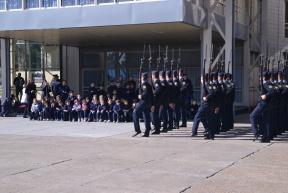 La Escuela va a la Policía: Se lanzó un programa para que alumnos visiten la escuela de Policía y conozcan las tareas que realizan