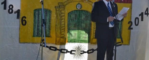 CONSCRIPTO BERNARDI:  Acto por el día de la Independencia