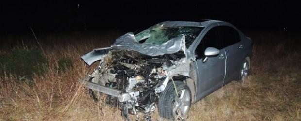Ruta Provincial Nº 2.:  Se accidentó el Ministro Juan Javier García