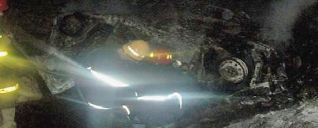 Estaban de vacaciones: Cuatro entrerrianos murieron calcinados tras un accidente en Salta