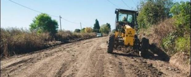 FEDERAL: Favorecido por el buen clima…la Zonal de Vialidad trabaja en la conservación de caminos