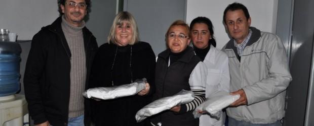 Sauce de Luna: El Hospital Crispin Velazquez recibió 60 juegos de sabanas del Ministerio de Desarrollo Social de la Nación