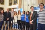 En la Casa Gris: Se presentó la 2º edición de la Maratón del Becario