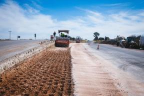 La obra prevé otorgar mayor seguridad vial: Avanza a buen ritmo la rehabilitación de la ruta 11 desde Tres Bocas hasta Rincón de Nogoyá