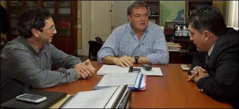 LA OBRA ASCIENDE A LOS 10 MILLONES DE PESOS: Acordaron plan de trabajo para obra de red de gas en Sauce Luna