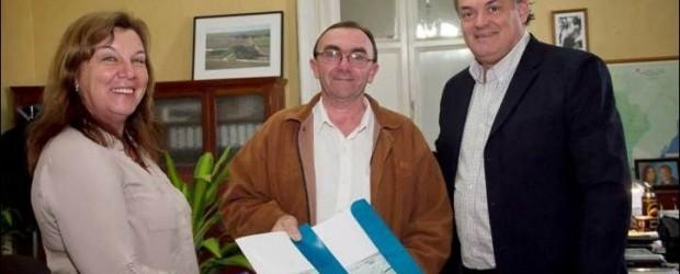 MÁS CERCA: Conscripto Bernardi recibió aportes para obras de infraestructura