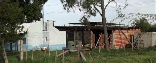 GRAVISIMO: Funcionario de la Brigada de Abigeato de Federal fue alcanzado por descarga eléctrica de una línea de alta tensión