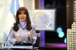 """CRISTINA A ESTADOS UNIDOS Cristina: """"Si están tan interesados en una Argentina próspera por qué no nos dejan pagar la deuda"""""""