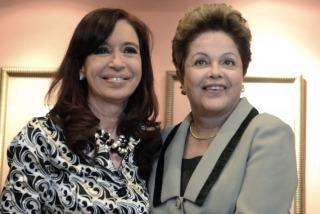 """BRASIL Cristina felicitó a Dilma: """"Gran victoria de la inclusión social y la integración regional"""""""
