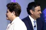 ELECCIONES; A todo o nada, Rousseff y Neves tuvieron el último debate cargado de acusaciones