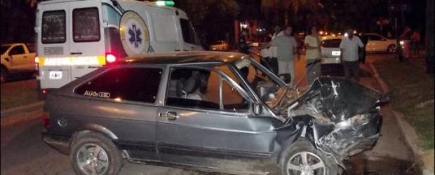 FEDERAL: Violenta colisión vehicular sobre el boulevard Paraná