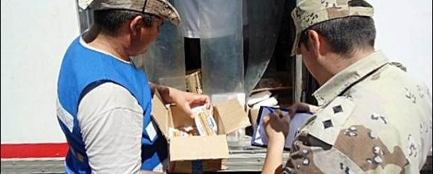 FEDERAL: Decomisan un millar de productos alimenticios