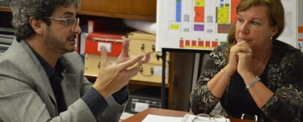 """En Federal: Se inicia la segunda etapa de reparación de la Escuela N° 44 y el llamado a licitación de la obra de gas natural para el hospital """"Justo José de Urquiza"""""""
