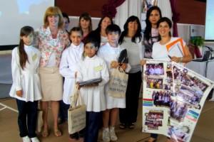 En el marco del proyecto de mejora de la Educación Primaria: Se realizó el primer encuentro provincial de escuelas Nina