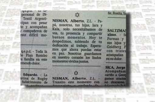 """EN LA PRENSA Las hijas de Nisman: """"Solo necesitábamos de vos, tu presencia y compartir buenos momentos"""""""