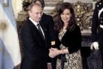 CARTA: Presidentes de Rusia, Cuba, Estados Unidos y Francia saludaron a Cristina por el 25 de Mayo