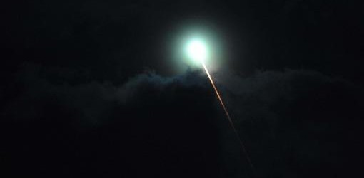 UNA LUZ VERDE: Un extraño fenómeno en el cielo fue visto en Buenos Aires, Entre Ríos y Santa Fe