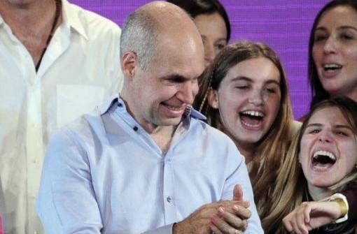 ELECCIONES 2015: Larreta festejó su triunfo en las elecciones porteñas y valoró el voto electrónico