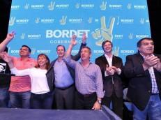 """EN LA VIEJA USINA: Urribarri y Bordet convocaron a los jóvenes a """"seguir militando"""" por la continuidad del proyecto"""