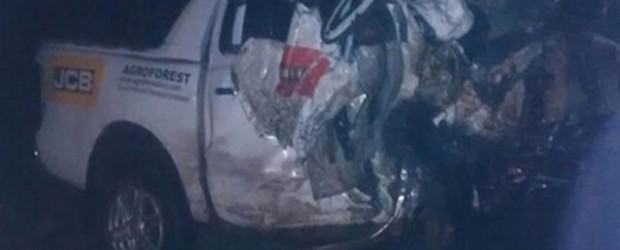 Se produjo una colisión frontal fatal en la ruta 14