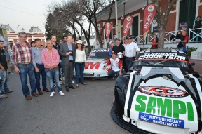 Con la presencia de reconocidos pilotos: Se lanzó la novena fecha del TC en Paraná