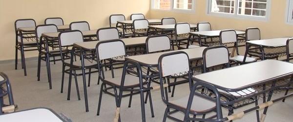 Las aulas están con los bancos, pronto llegaran los gurises a la nueva Agro