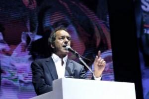 """ACTO EN EL LUNA PARK: """"El debate de fondo es entre la economía popular y los intereses de los grupos concentrados"""""""