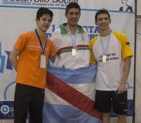 Juegos Evita Nacionales 2015: Los primeros oros para Entre Ríos llegaron en natación y atletismo
