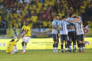 Eliminatorias Rusia 2018: Argentina derrotó a Colombia en Barranquilla con garra, corazón y fútbol