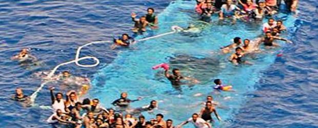 crisis migratoria:  Al menos, 700 refugiados muertos en el Mediterráneo en sólo una semana