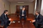 Se reunió con directivos del Banco Hipotecario: Bordet gestiona financiamiento para la provincia y los municipios