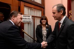 Hacia el Bicentenario de la Independencia: El gobernador dio inicio a los festejos por los 206 años de la Revolución de Mayo