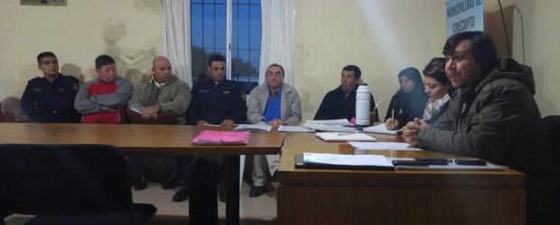 CONSCRIPTO BERNARDI: Se reunieron instituciones y vecinos preocupados