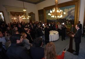 El gobernador saludó a los periodistas en su día: Bordet ratificó su compromiso con la libertad de expresión