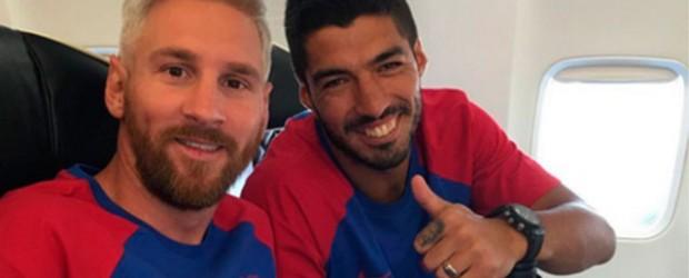 Lionel Messi se sumó a la pretemporada con el Barcelona