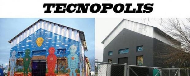 Un fotógrafo acusó al PRO de tapar el mural de un artista en Tecnópolis
