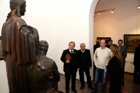 Conmemoración: Bordet participó de la celebración de los 90 años del Museo Provincial de Bellas Artes