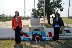 Acto en el Túnel:  Los gobiernos entrerriano y santafesino recordaron a Sylvestre Begnis ante un nuevo aniversario de su muerte