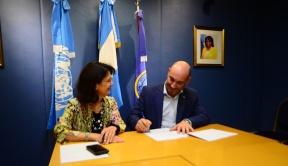 Convenio de cooperación: Entre Ríos y la OPS trabajan en el sistema de salud provincial