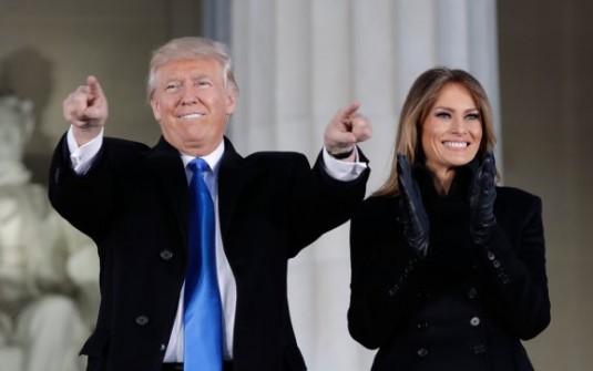 Donald Trump ya llegó a Washington y se prepara para asumir la presidencia