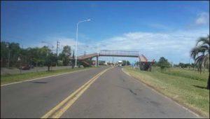 FEDERAL: Un automóvil chocó a un motociclista adolescente que corría picadas sobre la ruta 127
