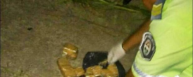 DEPARTAMENTO FEDERAL: Hallan un paquete con marihuana a la vera de la ruta nacional 127