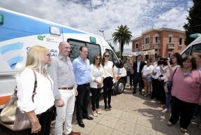 El gobernador convocó a los intendentes a trabajar por el norte entrerriano: Bordet entregó dos ambulancias en Feliciano y reafirmó su compromiso con la salud pública