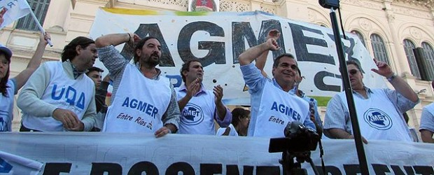 SERÁN DE DOS HORAS POR TURNOS: Por asambleas de Agmer, se resentirá este martes el dictado de clases