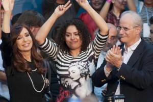 Cristina Kirchner y Jorge Taiana, la fórmula de senadores de Unidad Ciudadana
