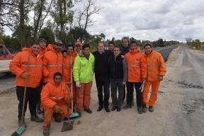 Hay un 65 por ciento de avance: En frentes simultáneos de obra se rehabilita la ruta 11 y se ejecuta la doble vía entre Paraná – Oro Verde