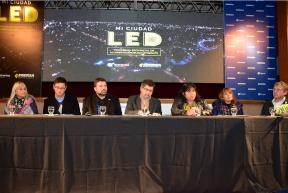 Autoridades de Enersa estuvieron en Federal: Informan a municipios y juntas de gobierno sobre el programa de alumbrado público eficiente
