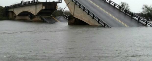 Colapso de un puente en la ruta 12 Entre Goya y Esquina Corrientes